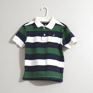 Nautica Polo Shirt for Boys Size M 5/6